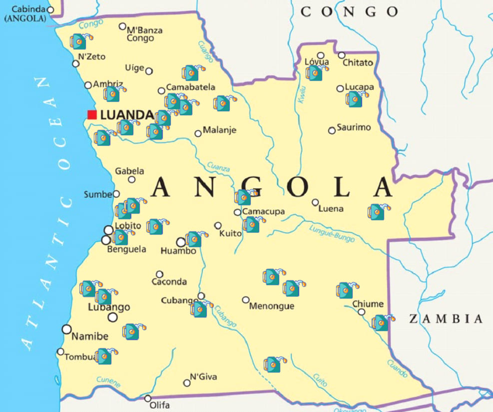 Duralub Operations In Angola